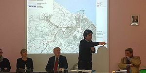 foto dell'Incontro per Contratto di Fiume Foglia con Palmiro Ucchielli e Andrea Biancani