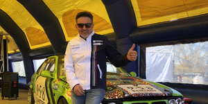 6 Rally drift show con Nicola Costantini