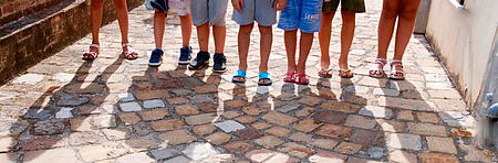 piedi bambini