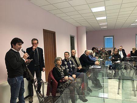 Assemblea del Contratto Fiume Foglia del 15/03/2019 con Biancani e Gennari