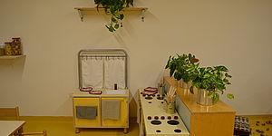 foto stanza con giochi per bimbi