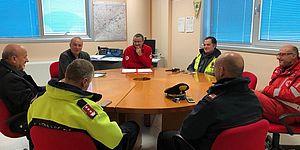 Foto riunione Comitato Protezione Civile Intercomunale