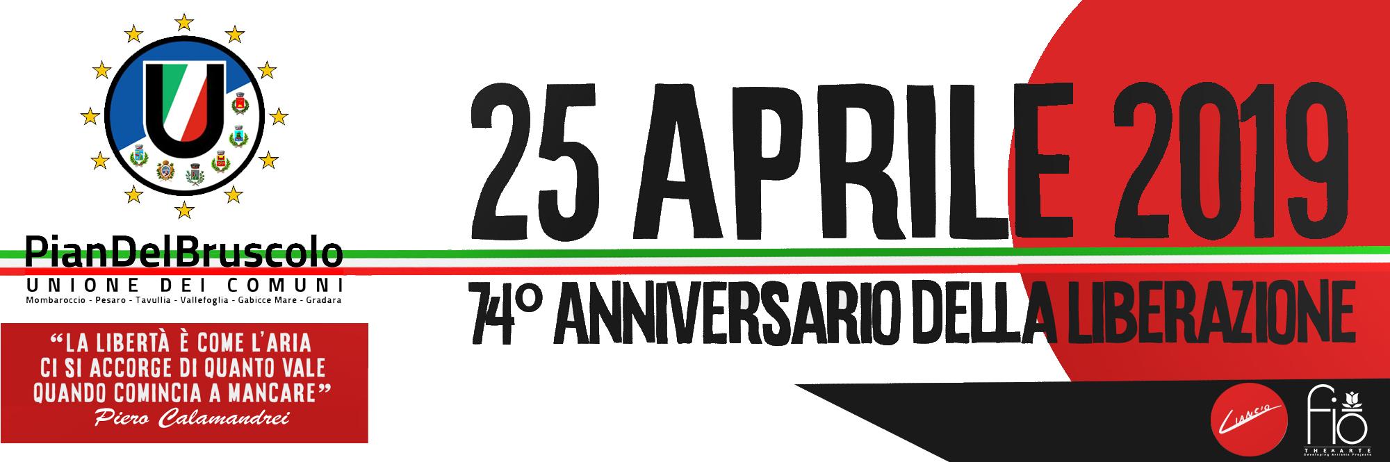 liberazione 25 aprile 2019